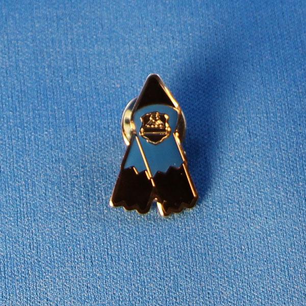 Memorial Ribbon Lapel Pin / Épinglette