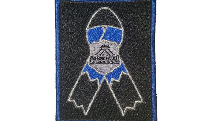 New Memorial Ribbon Morale Patch
